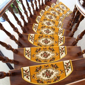 Europe-style-Flowers-Stairs-Mat-Home-decor-font-b-rugs-b-font-Red-Yellow-Olive-font
