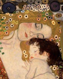 klimt maternidad