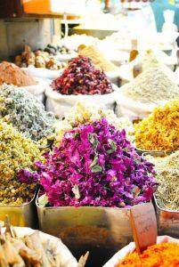 mercado tes y hierbas damasco
