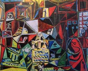 Pablo Picasso After Las Meninas 1957 Velasquez (2)