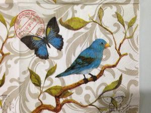 2-x-napkin-25x25cm-papel-decoupage-decoupage-servilletas-de-papel-number-capas-pajaro-azul-bird-impreso