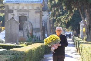 Cementerio de Santa Isabel. Día de los difuntos. Vitoria. 1-11-15. Blanca Castillo