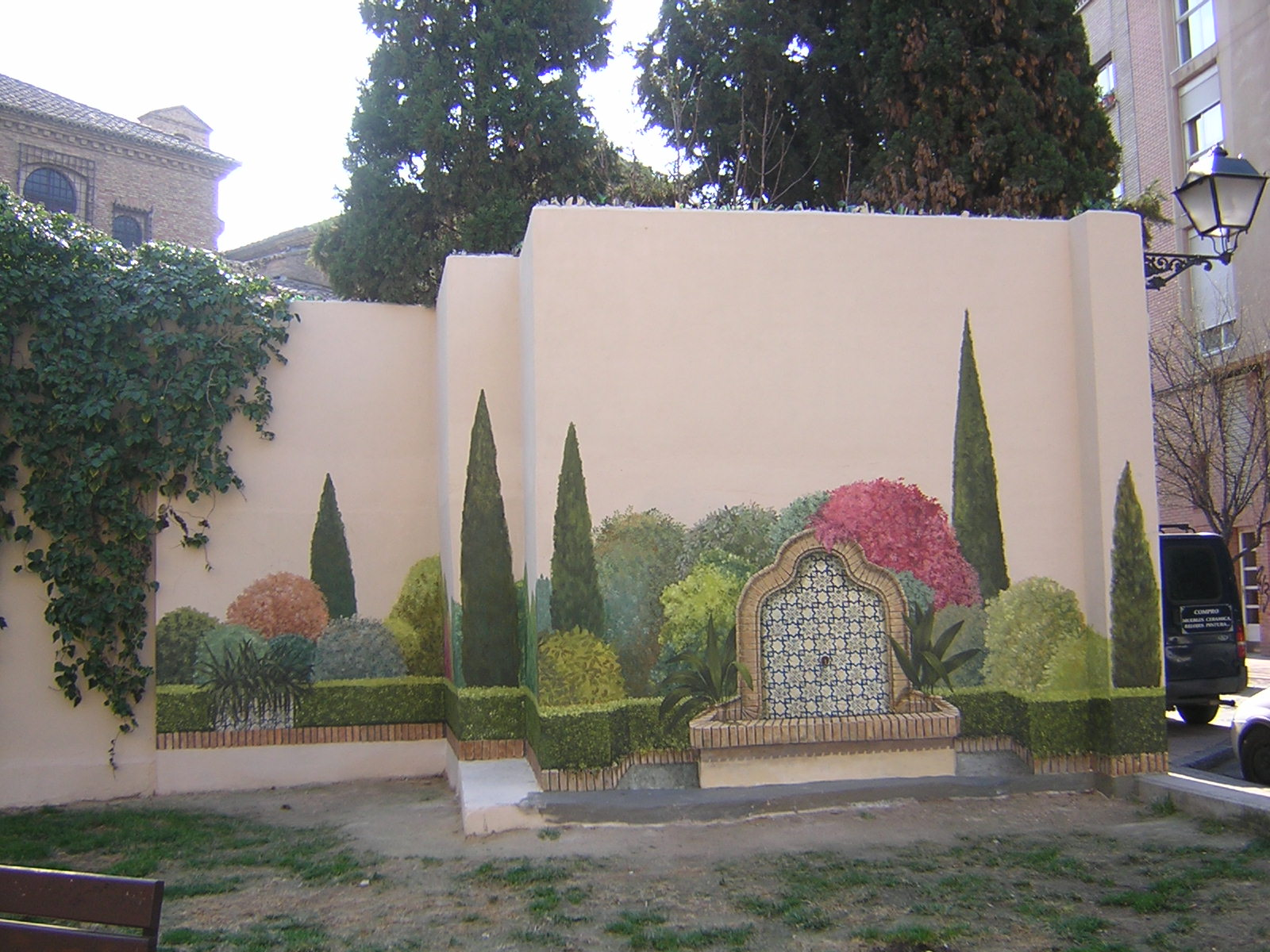 Naturaleza en la ciudad i creciendoentreflores for Decoracion de jardines y muros exteriores