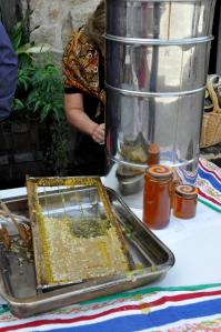 miel haciendo