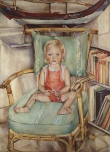 005-1941-portret-schilderij-Elisabeth-Bep-Rietveld