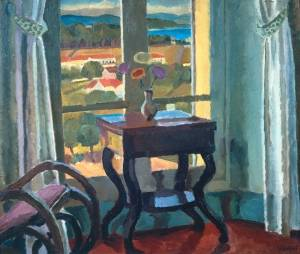 Interior with a Table 1921 Vanessa Bell 1879-1961 Bequeathed by Frank Hindley Smith 1940 http://www.tate.org.uk/art/work/N05078