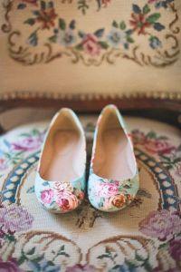 zapatos flores bellos