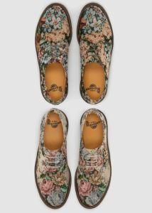 zapatos flores piel