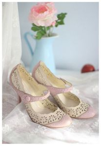 zapatos gama rosa