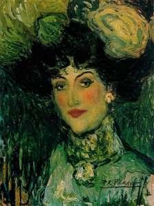 indice-de-biografias-picasso-mujer-con-sombrero-de-plumas