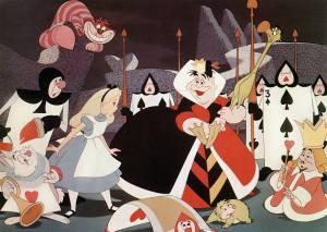 Alice au Pays des Merveilles ALICE IN WONDERLAND (aka Alice Trough The Looking Glass) de WaltDisney 1951