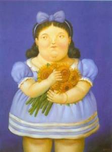 botero_xx_girl_with_flowers_1995_
