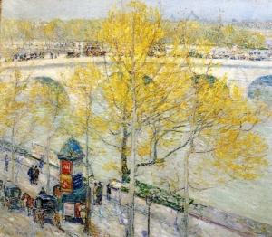 childe-hassam-1859-1935-american-impressionist-painter-paris-street-scene-2