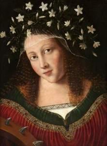 Bartolomeo Veneto; Saint Catherine; Glasgow Museums; http://www.artuk.org/artworks/saint-catherine-83142