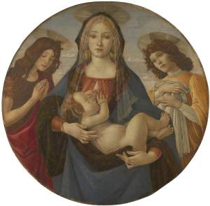 Botticelli, Sandro; The Virgin and Child with Saint John and an Angel; The National Gallery, London; http://www.artuk.org/artworks/the-virgin-and-child-with-saint-john-and-an-angel-115999