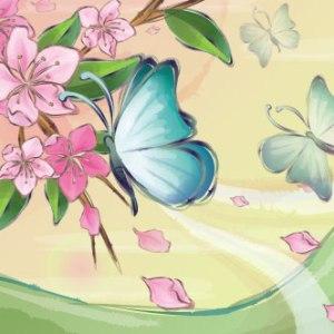paisaje-con-mariposas-y-flores