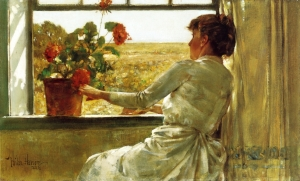 summer_evening_frederick_childe_hassam_1886