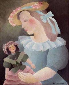 alijka-hohermann-chica-con-una-munieca-pintores-y-pinturas-juan-carlos-boveri