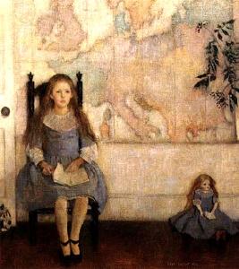 wescott-la-nina-y-la-muneca-pintores-y-pinturas-juan-carlos-boveri