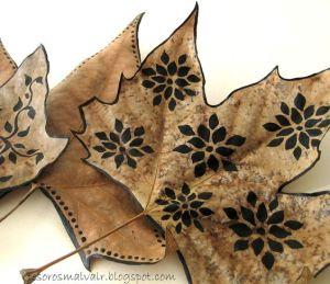 hojas-decoradas