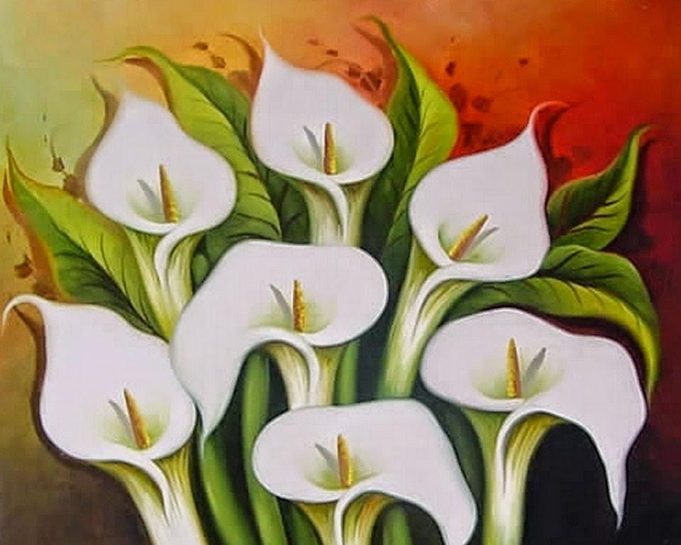Flores en la pintura xliv las calas de diego rivera - Nombres de cuadros famosos ...