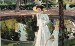 joaquin-sorolla-maria-en-los-jardines-de-la-granja-1907