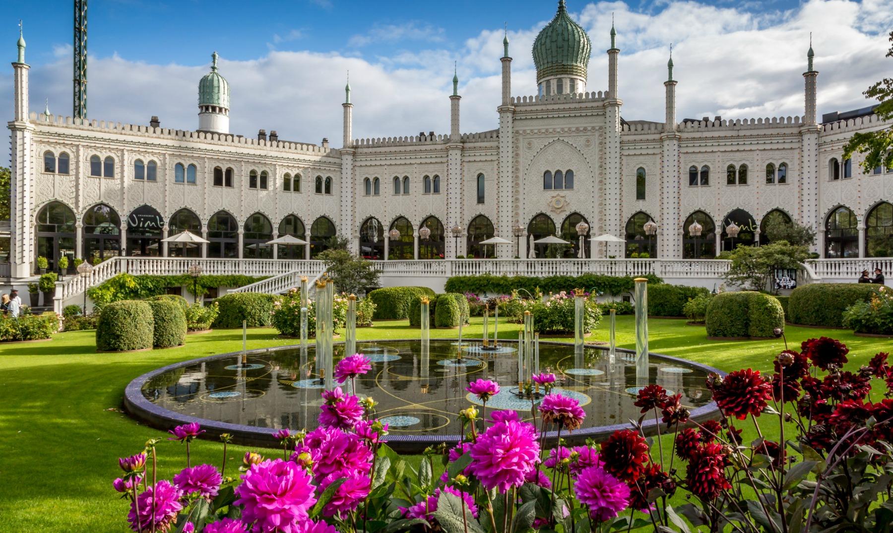 Jardines De Tivoli Copenhague Creciendoentreflores